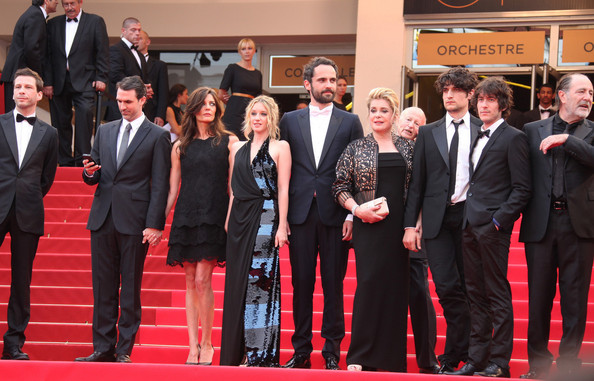 "Uma Thurman at the Premiere of ""Les Biens-Aimes"" at Cannes"
