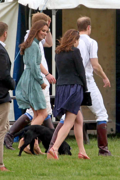 Will And Kate At The Polo Match Zimbio