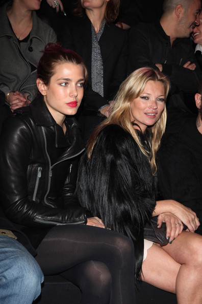 kate moss 2011 catwalk. Charlotte Casiraghi Kate Moss