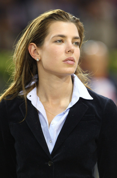Charlotte Casiraghi at the Gucci Masters Tournament