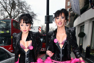 Gabriela Irimia The Cheeky Girls at The Mad Hatter Tea Party