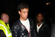 Chelsea star Santos enjoys a night out in London with a visit to the exclusive Chinawhite club. Also at the club were teammate Saloman Kalou and former Chelsea star Wayne Bridge.