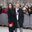 Chelsea Tyler Arrivals at the Christian Dior Fall-Winter 2013 Ready-to-Wear Show in Paris