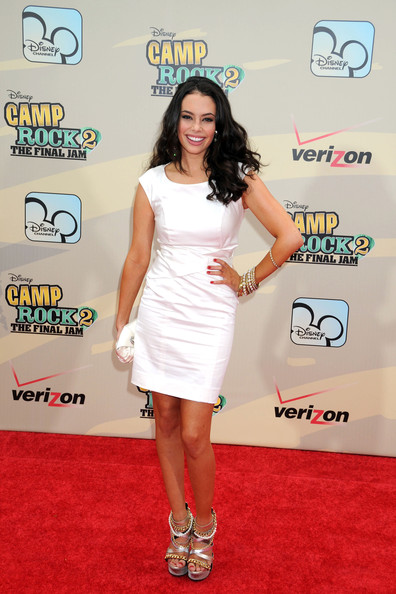 "Chloe Bridges Chloe Bridges at the New York premiere of the Disney movie ""Camp Rock 2: The Final Jam"", held at the Alice Tully Hall."