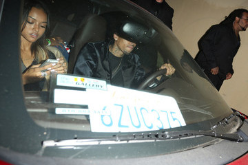 Chris Brown Karrueche Tran Chris Brown and Karruche Tran Spotted in LA