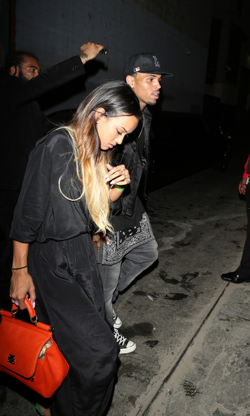 Chris Brown and Karruche Tran Spotted in LA []