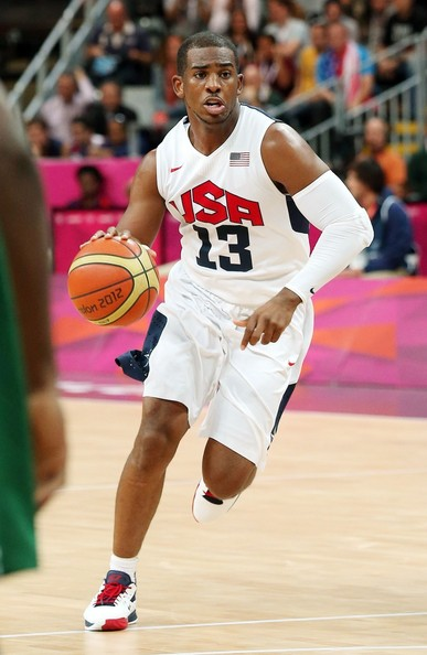 9936f85de James Harden at USA vs Nigeria Men s basketball match at the 2012 Summer  Olympics