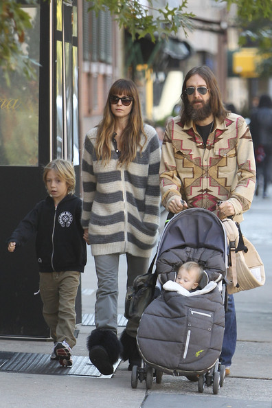 Chris Robinson and Allison Bridges Go to Lunch in the West Village