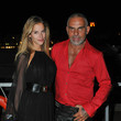 Christian Audigier Christian Audigier and Wife in St. Tropez