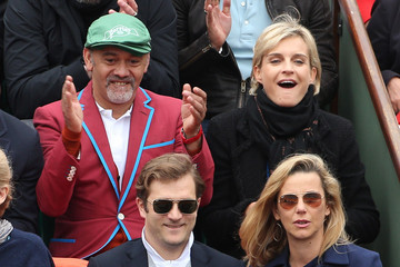 Christian Louboutin Celebs Watch the French Open in Paris
