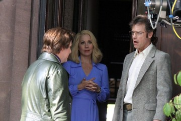 Christina Applegate 'Anchorman: The Legend Continues' Films in Brooklyn — Part 2