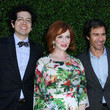 Geoffrey Arend and Eric McCormack