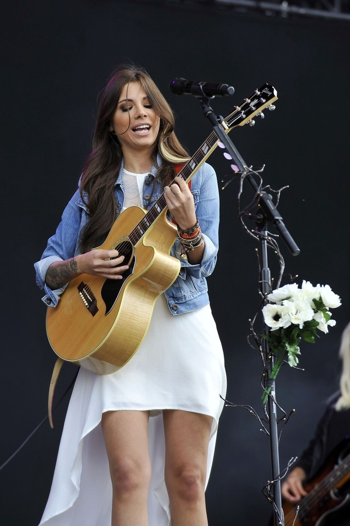 Christina Perri Performs in London - Pictures