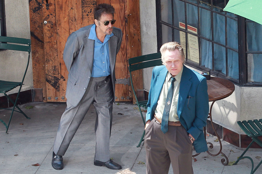 Christopher Walken and Al Pacino Film 'Stand Up Guys' 2 ...