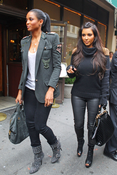 Ciara Photos Photos Kim Kardashian And Ciara Leave