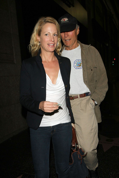Alison Eastwood and husband