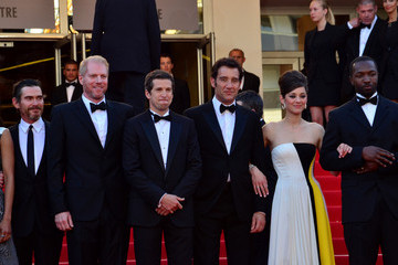 Clive Owen Jamie Hector 'Blood Ties' Premieres in Cannes