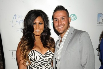 Corey Epstein Laurena Fox and Tracy DiMarco seen attending the 'Glam Fairy' Season 2 Premiere Party held at the Teak On The Hudson, New Jersey
