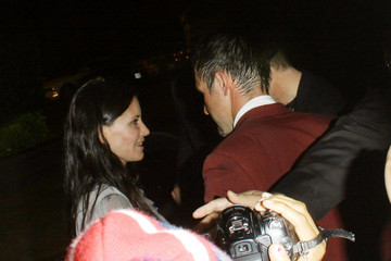 David Arquette Courteney Cox David Arquette and Courtney Cox at The Roosevelt in Hollywood 2