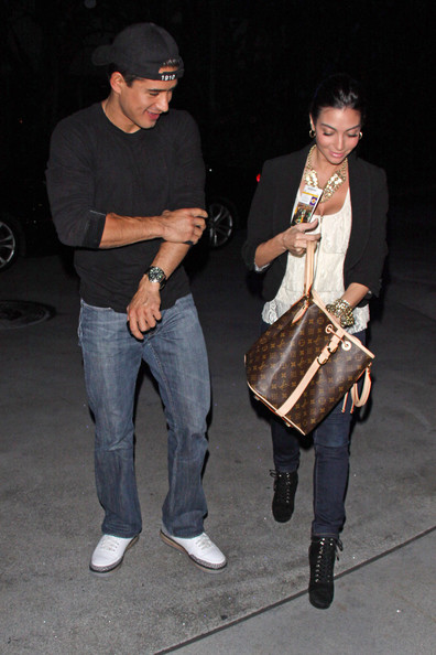 Kris and Kendall Jenner Leave the Staples Center
