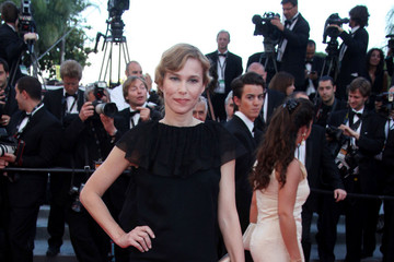 """Pascale Arbillot Courtney Love at the Premiere of """"This Must be the Place"""" at the Cannes Film Festival"""