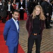Fredrik Ferrier Stars at the Premiere of 'The Dictator' in London
