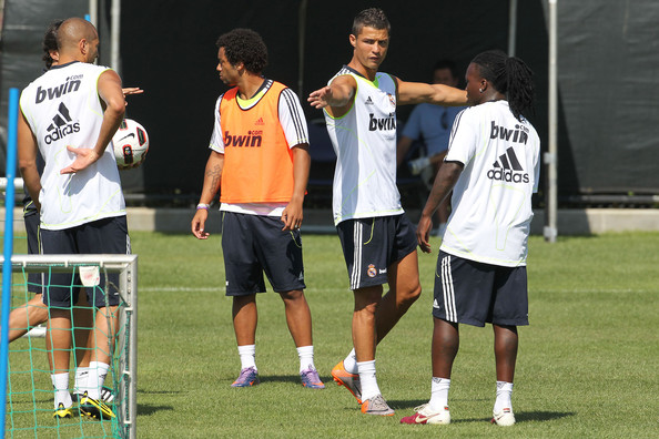 ronaldo real madrid 7. Real Madrid Practices on the