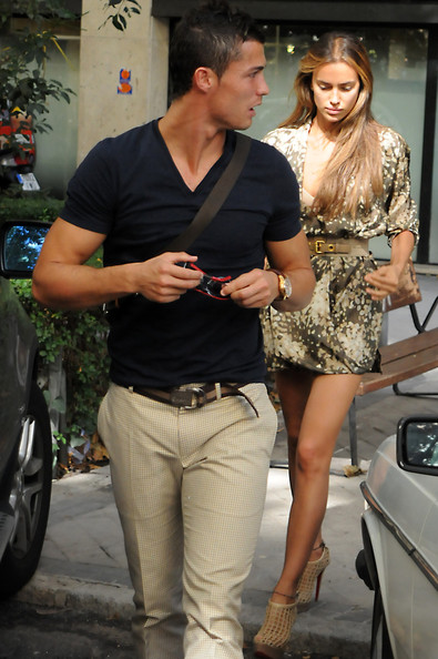 cristiano ronaldo girlfriend irina. Cristiano Ronaldo and Irina