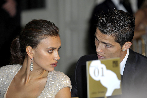 Cristiano Ronaldo Cristiano Ronaldo and his girlfriend Irina Shayk are