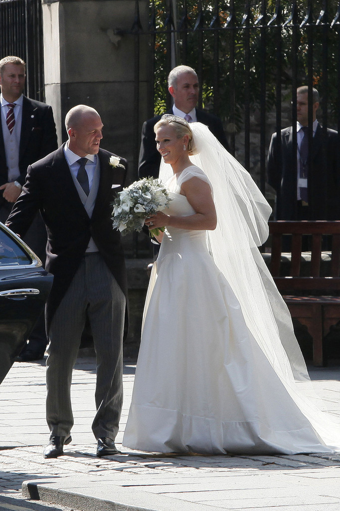 Mike Tindall in Wedding of Zara Phillips to Mike Tindall ...