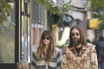 Cheyenne Chris Robinson and Allison Bridges Go to Lunch in the West Village