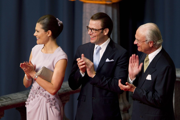 Crown Princess Victoria and Daniel Westling - Crown Princess Victoria at a Wedding Rehearsal