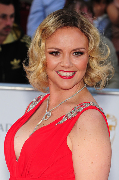 British actress charlie brooks as janine butcher with her fictional boy ryan - 3 5