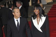 Vladislav Doronin and Naomi Campbell seen attending the world premiere of film 'Skyfall' held at London's Royal Albert Hall.