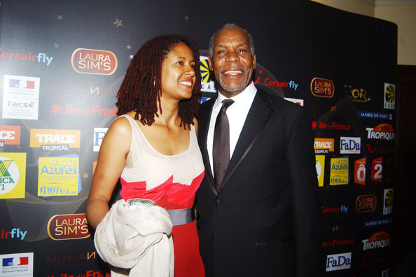 Danny Glover and Wife