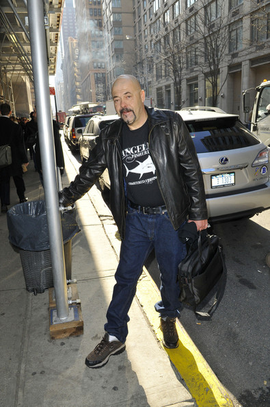 Dave Marciano Grabs Lunch in NYC
