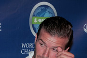 David Beckham discusses his participation in the 2011 Herbalife World Football Challenge at a press conference. Beckham was joined by Landon Donovan, Bruce Arena, and Jose Mourinho.