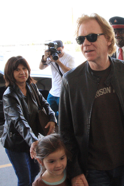David Caruso is all smiles as he and his family head into LAX to catch a flight out of Los Angeles. David is known for his portrayal of Lieutenant Horatio Caine on the TV series 'CSI: Miami'. He has also appeared as Detective John Kelly on the ABC crime drama NYPD Blue.