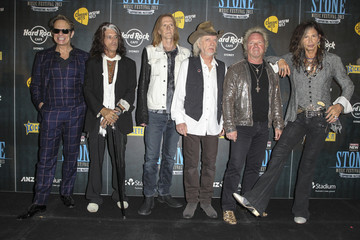 David Lee Roth Musicians at the 'Stone Music Festival'