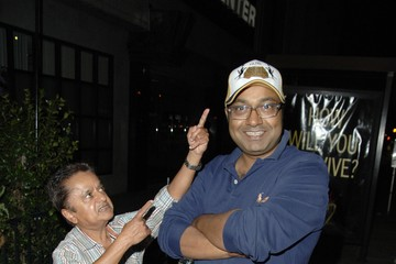 Deep Roy Deep Roy Outside the El Ray Theater, Los Angeles