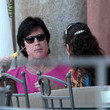 Devin Devasquez Ronn Moss Hangs Out with His Wife in Italy