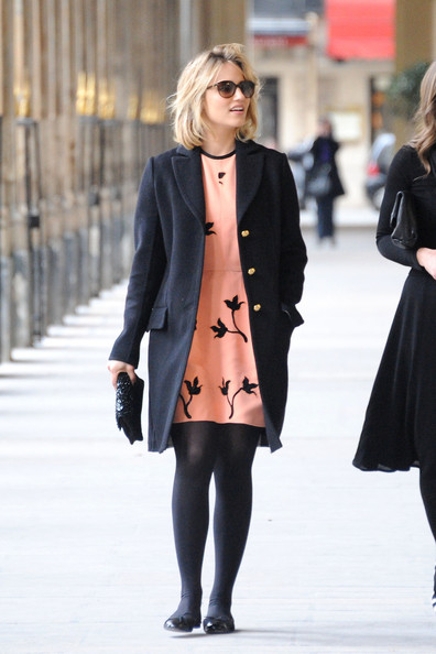 Dianna Agron's Chic Parisian Style