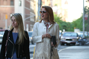 Dianna Agron Dianna Agron Spends the Day with a Friend