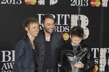 "Dominic Howard ""BRIT Awards"" held at the o2 Arena, Greenwich in London"
