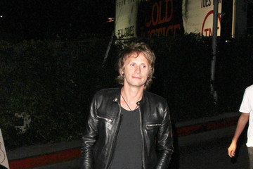 Dominic Howard Dominic Howard Leaves the Chateau Marmont