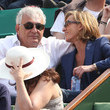 Dominique Strauss-Kahn General Views of the Crowd at the French Open