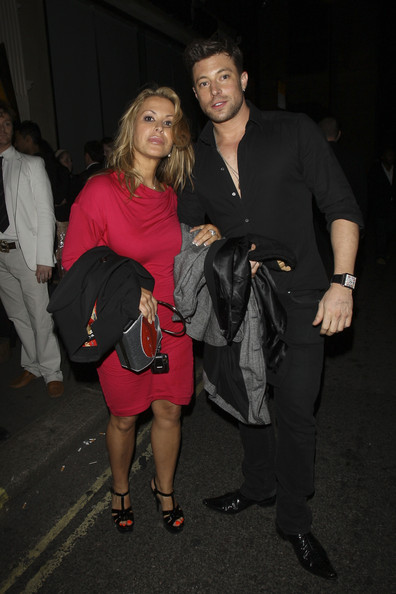 Anastacia and Duncan James at Mahiki in London. (Source: Pacific Coast News)