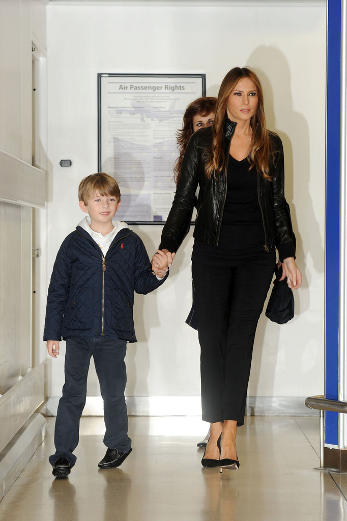 Donald Trump S Wife Melania Revealed That Their 7 Year Old ...