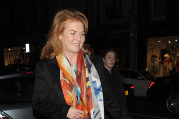 Duchess of York Sarah Ferguson Out in London