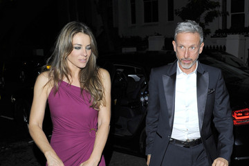 Elizabeth Hurley Patrick Cox Elizabeth Hurley and Patrick Cox Out Late — Part 3